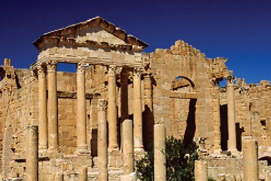 africa-tunisia-sbeitla-roman ruins
