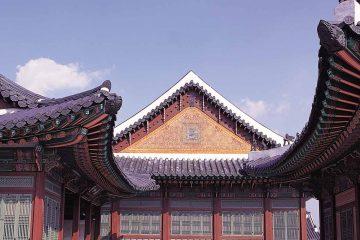 asia-south korea-seoul-gyeongbokgung palace