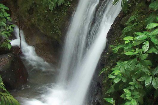 central america-costa rica-waterfall