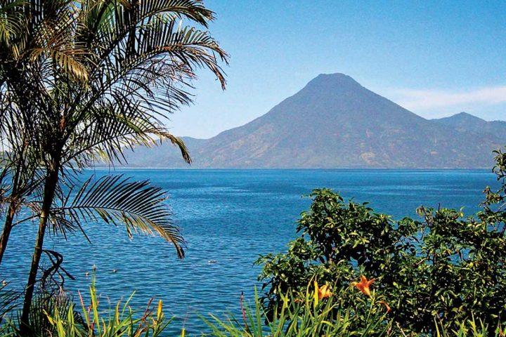 central america-guatemala-lake atitlan