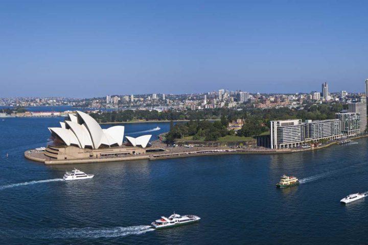 south pacific-australia-sydney-harbour