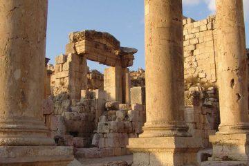 the middle east-jordan-jerash