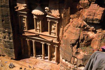 the middle east-jordan-petra