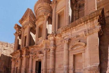 the middle east-jordan-petra-treasury