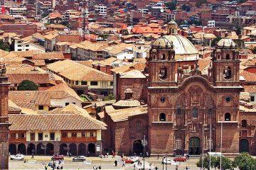 South-America-Peru-Cusco-Colonial-Architecture