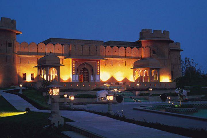 Luxury Travel Asia India Oberoi Rajvilas Jaipur