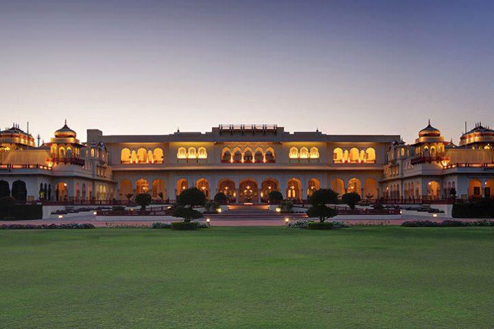 Luxury Travel Asia India Taj Rambagh Palace