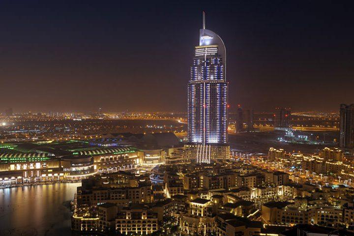 Luxury Travel Middle East UAE (United Arab Emirates) The Address Downtown Burj