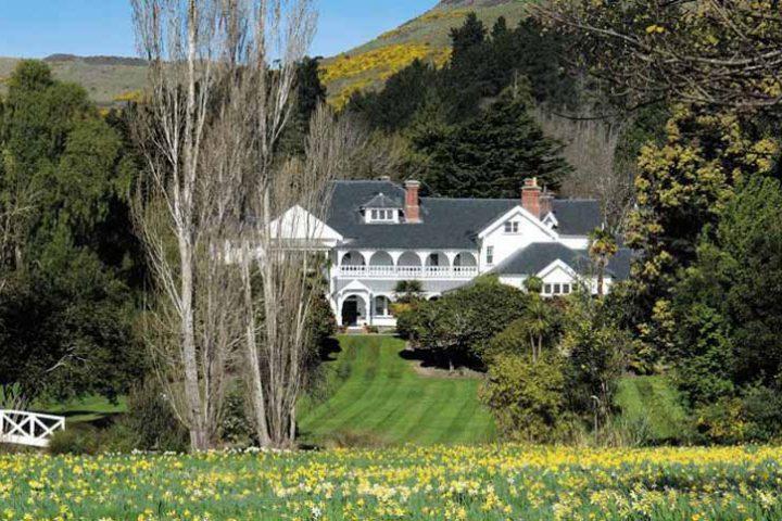 Luxury Travel South Pacific New Zealand Otahuna Lodge