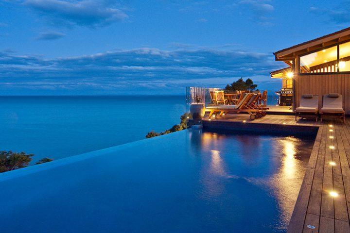 Luxury Travel South Pacific New Zealand Split Apple Retreat
